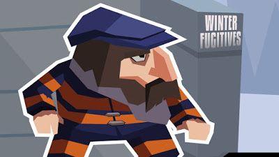 WINTER FUGITIVES é um jogo de espionagem onde você precisa usar sua habilidade para escapar de uma prisão isolada nas montanhas nevadas.