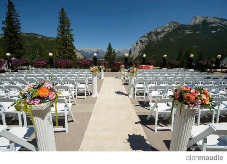 Banff springs terrace wedding