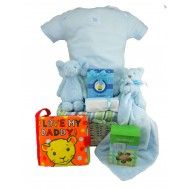 SNUGGLE MY MOMMY BABY GIFT BASKET