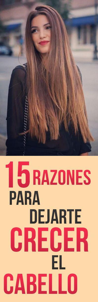 15 Razones Para Dejarte Crecer Tu Cabello