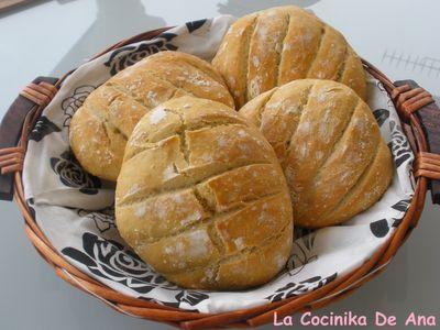 Pan artesano en 5 minutos