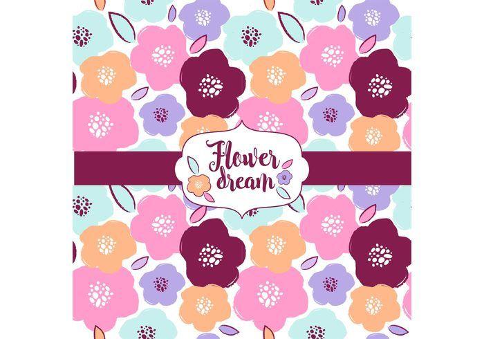 Flower Dream Pattern Design