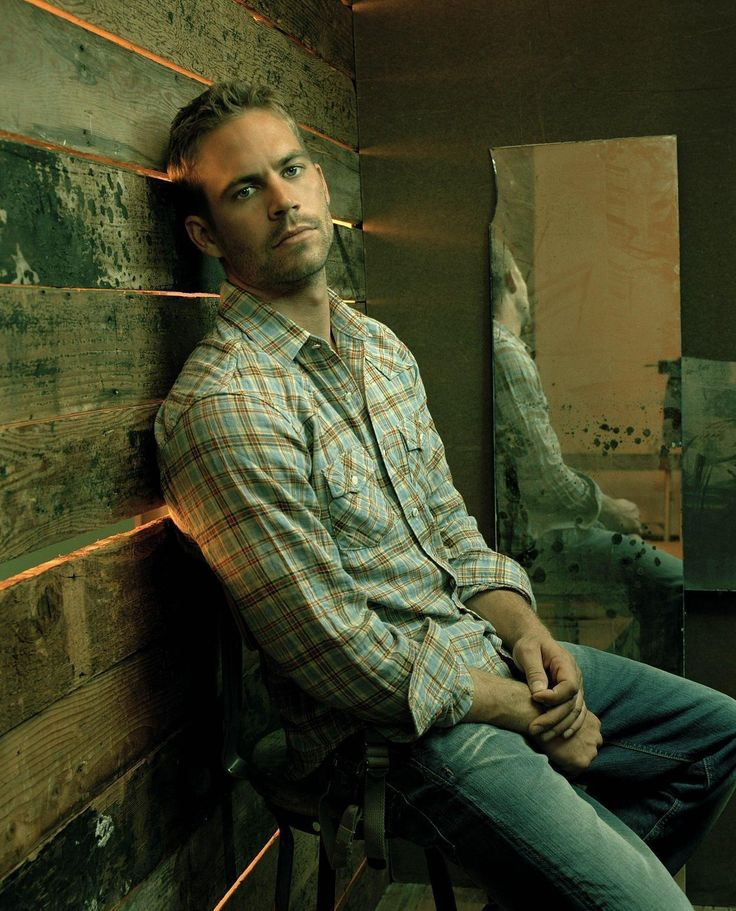 Paul Walker- prob. the only reason I actually watched any fast and furious movies!