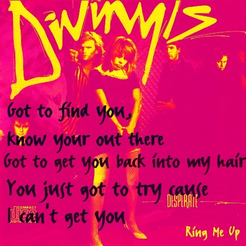 Ring Me Up. Divinyls. 80's.