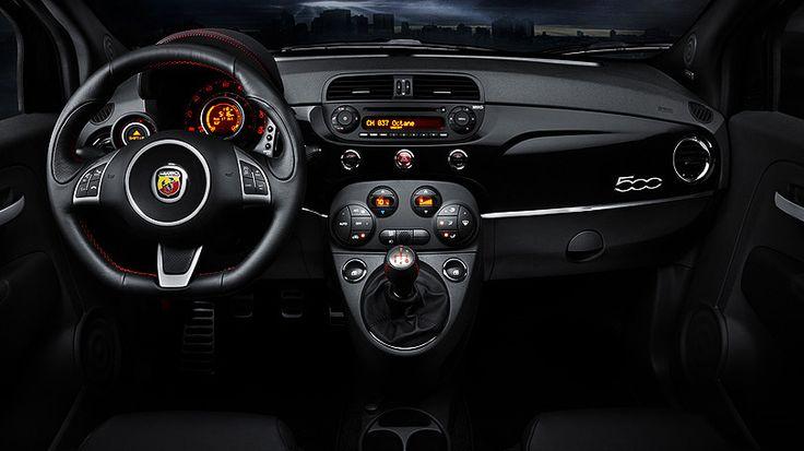 Fiat 500 Abarth Dash