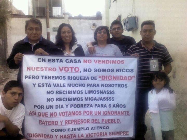 Ejemplo de dignidad para MÉXICO