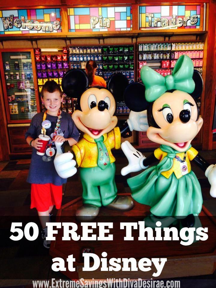50 FREE Things at Walt Disney World!