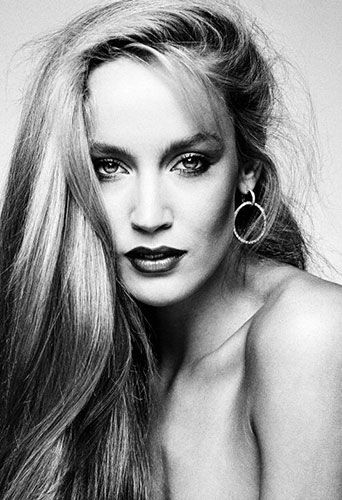 Jerry Hall ... what a beautiful picture