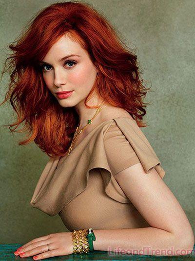 christina red hair