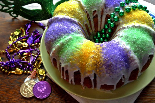 King Cake by Amelia Ames for CDN / All rights resereved