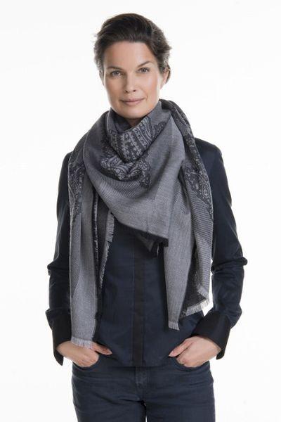 Balmuir | Lombardia scarf, dark grey TULOSSA | Putiikki Rannalla