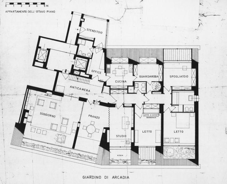Condominio al giardino d'Arcadia - Giulio Minoletti e Milano - itinerari…
