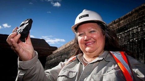 Gina Rinehart Is the World's Richest Woman Due to international mining investments (mainly iron ore) worth 30 billion and climbing by 50 million a day! ....what would you do with all that money?