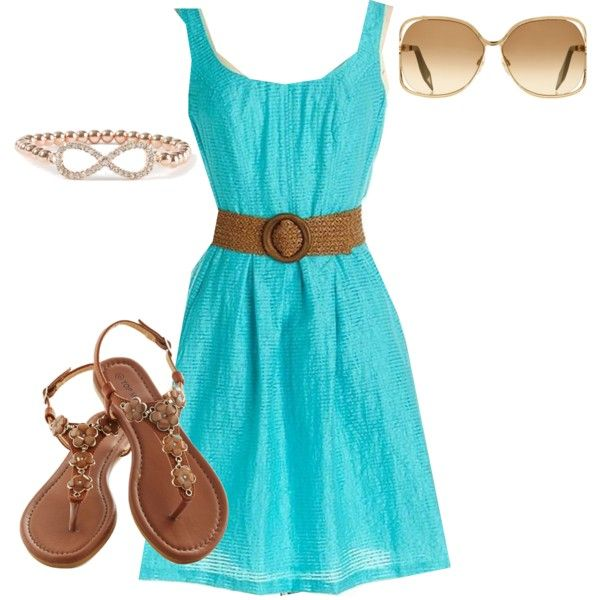 Casual day dress outfit | My Style | Pinterest