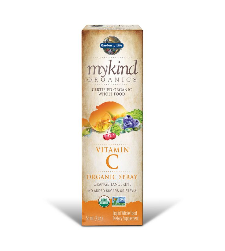 Nature's Happiness - mykind Organics Liquid Vitamin C Spray Orange-Tangerine, 2 oz, Garden of Life, $9.07 (https://www.natureshappiness.com/mykind-organics-liquid-vitamin-c-spray-orange-tangerine-2-oz-garden-of-life/)