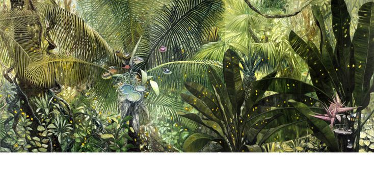 "Artwork ""nest"" of Oscar Oiwa, Japanese Brazilian Artist"