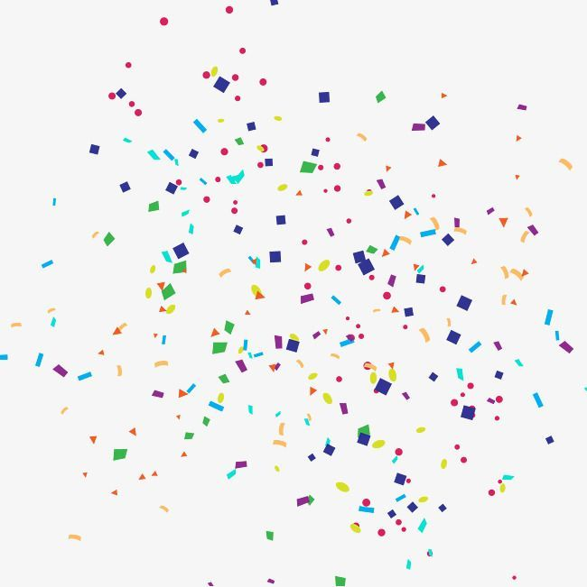 Share Image Happy Birthday Png Confetti Background Birthday Clipart
