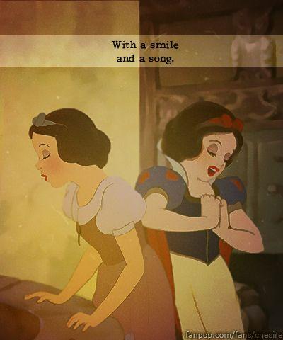 Then and Now - Snow White - disney-princess Photo