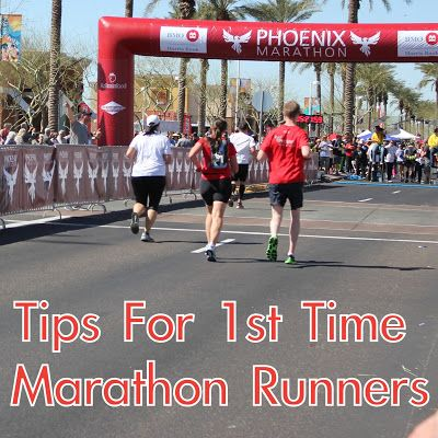 Tips for 1st time marathon runners... I'm kinda freaking out but I'm excited!