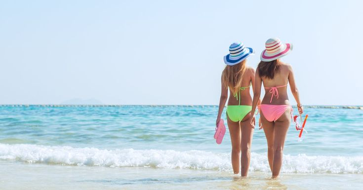 Free stock photo of beach, bikini, caribbean