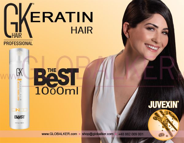Keratin Hair GK Hair The Best 1000ml Global Keratin Juvexin