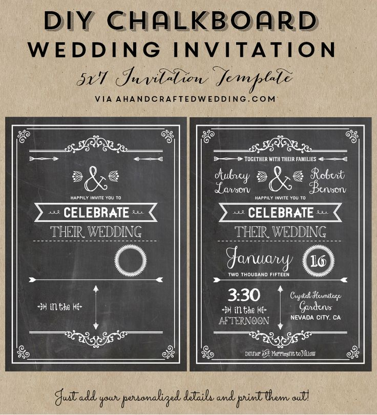 Chalkboard Wedding Invitation Template: 36 Best Images About Rainbow Party On Pinterest