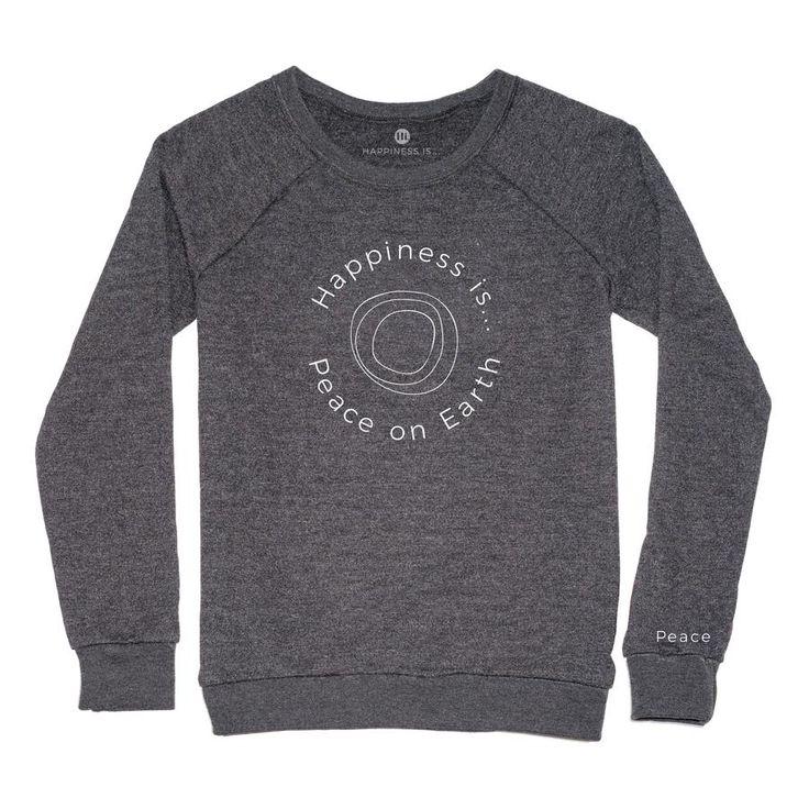 Women's Peace Crewneck Sweatshirt