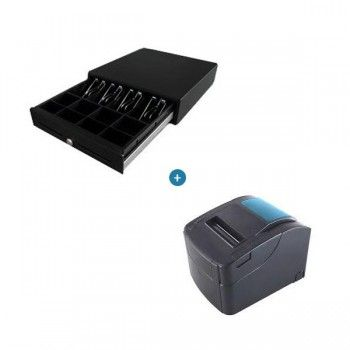 COMBO Nexa PX700IIS Thermal Printer & Nexa CB900 Cash Drawer