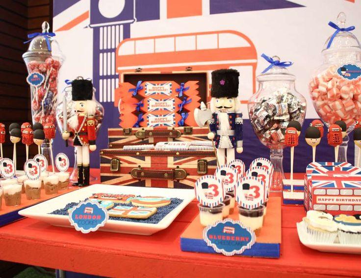 Paris & London Themed Party -- Gian & Julia's Birthday