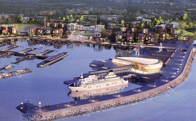 Msc, intesa per la costruzione di un terminal crociere in Russia