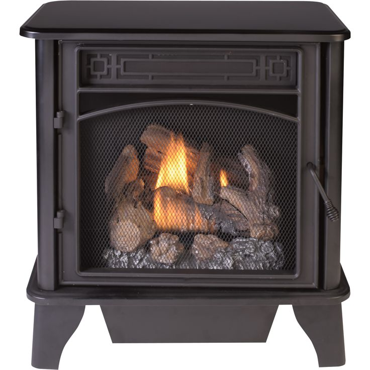 This Procom Dual Fuel Vent Free Stove Provides A