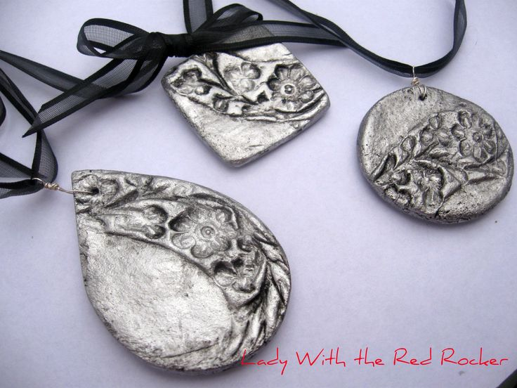 Thinking of making some salt dough jewellery this afternoon to try to sell, because it seems quick and easy and found these, which add another dimension I hadn't thought of!