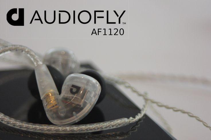 Audiofly AF1120 - 6 Driver IEM's | The Listening Post Christchurch & Wellington