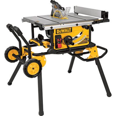 Best 25 table saw stand ideas on pinterest table saw station jobsite table saw 15 amp 32 12in rip capacity rolling stand model dwe7491rs greentooth Images