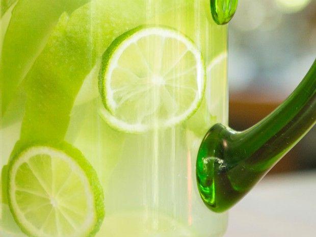 gua aromatizada com ma verde com limo  (Foto: Divulgao/ Andr Bittencourt)
