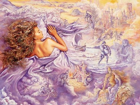 josephine wall: Wall Art, Paintings Art, Oils Paintings, Art Paintings, Fantasy Art, Wall Paintings, Lilacs Dream, Josephine Wall, Art Wallpapers