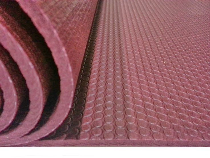 TouchPro Heat Activated Yoga Mats with no slip, flexible and long lasting