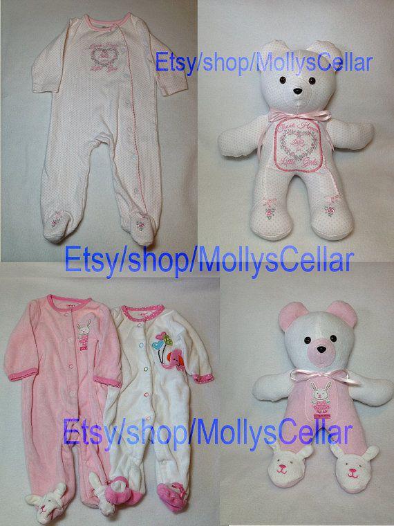 Keepsake memory bear keepsake teddy clothing teddy by MollysCellar