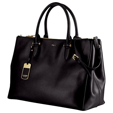 Lauren by Ralph Lauren Newbury Double Zip Satchel. Grab BagsLuxury ...