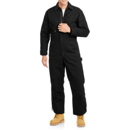Walls Men's Insulated Duck Coverall, Size: Medium, Black