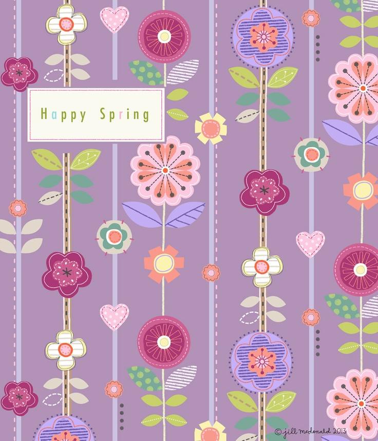 Jill Mcdonald - First day of Spring