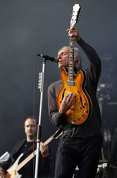 Paul Weller performs at Hard Rock Calling Day 1 at Olympic Park on June 29, 2013 in London, England. (Photo by Chiaki Nozu/WireImage)