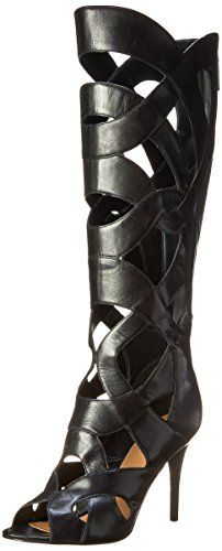 Nine West Women's Dewy Leather Gladiator Boot,Black,5 M US Nine West http://smile.amazon.com/dp/B00NCTP6CI/ref=cm_sw_r_pi_dp_GPfRub1B4M0XD