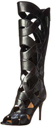Nine West Women's Dewy Leather Gladiator Boot,Black,5 M US Nine West http://smile.amazon.com/dp/B00NCTP6CI/ref=cm_sw_r_pi_dp_GPfRub1B4M0XD