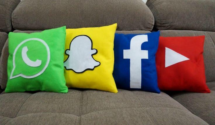 Blog Mistura Chic » Blog Archive » Almofada Snapchat DIY