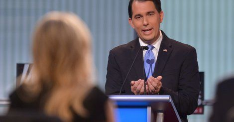 Moderator Megyn Kelly asked Wisconsin Gov. Scott Walker at Thursday night's Republican debate in Cleveland whether his stance on reproductive rights -- supporting a ban on all abortions with no exceptions