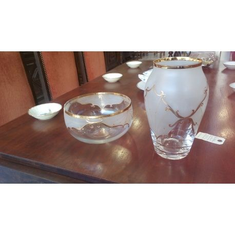 Bohemian Moser art crystal