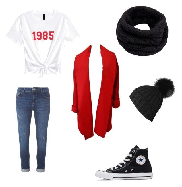 Fall Lookbook 1 by unicornlover1075 on Polyvore featuring polyvore, fashion, style, Versace, Dorothy Perkins, Converse, Helmut Lang, Black and clothing