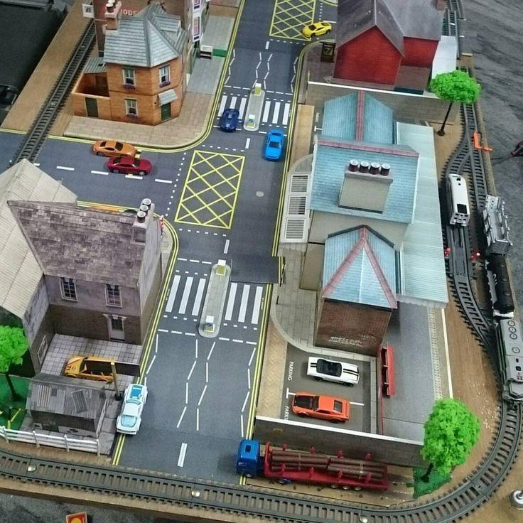 O Gauge 7mm 1 43 Scale Model Railroad Trains Roads Pavements Kit Citybuilde   eBay