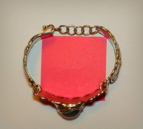 http://megasilver.pl/Bransoleta-p373 #Bracelet #metalwork #handmade #black #stone #jewelry #jewellery